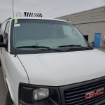 gmc savannah windscreen replacement