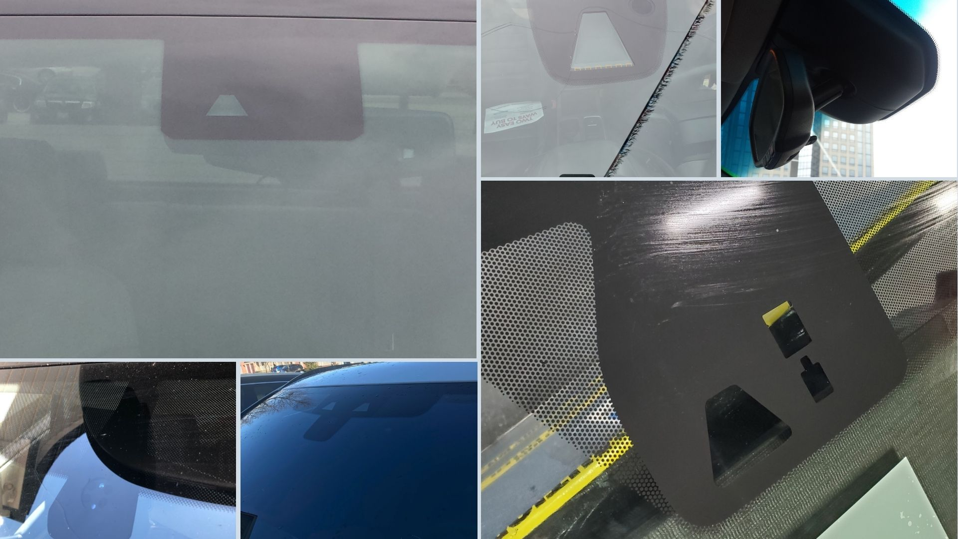 windshield replacement features identification